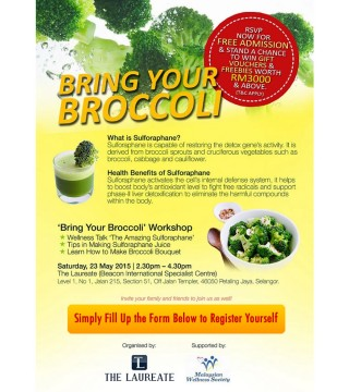Dna Profiling Malaysia bring your broccoli workshopfinal